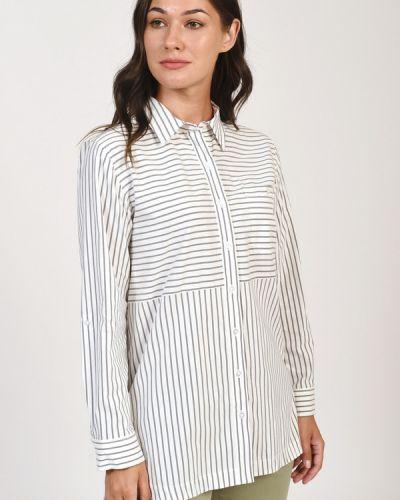 Хлопковая блузка Olsen
