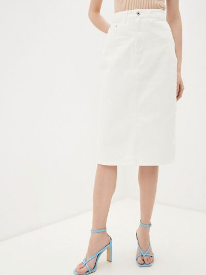 Джинсовая юбка - белая Befree