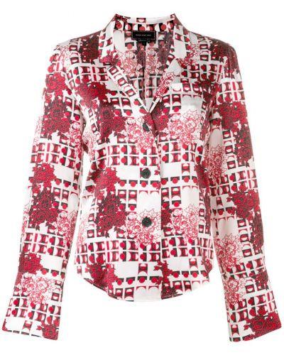 Рубашка на пуговицах с бантом Snow Xue Gao