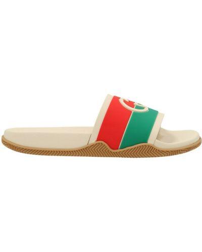 Sandały - beżowe Gucci