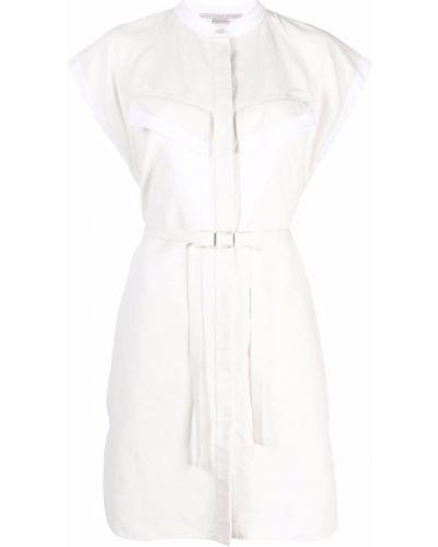 Льняное платье - белое Stella Mccartney