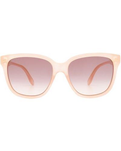 Okulary z printem - beżowe Gucci