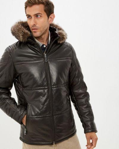 Кожаная куртка - коричневая Jorg Weber