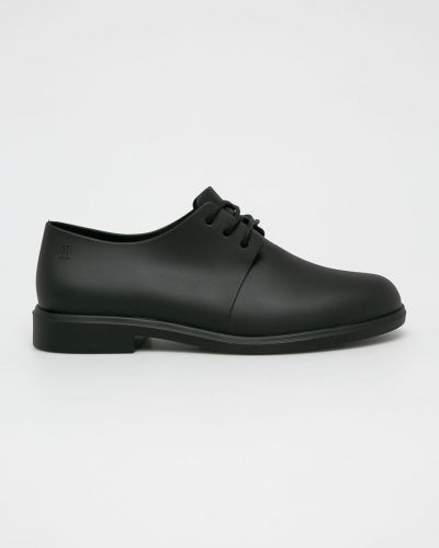 Туфли на шнуровке черные Melissa