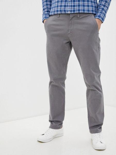 Серые прямые джинсы с жемчугом Colin's