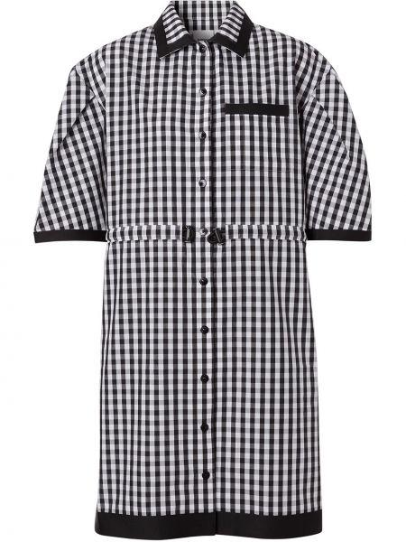 Платье мини короткое - черное Burberry