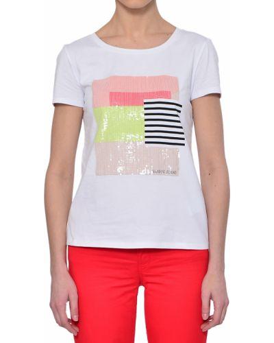 Хлопковая футболка - белая Armani Jeans