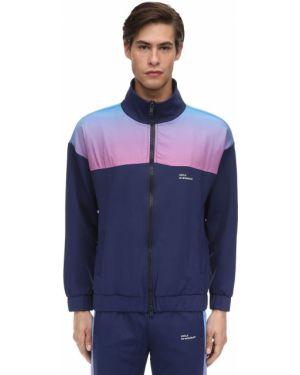 Niebieska kurtka z nylonu Drole De Monsieur