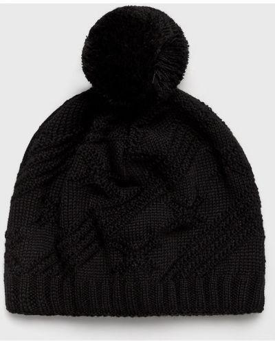 Зимняя шапка с помпоном шерстяная Viking