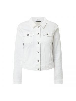 Bawełna bawełna kurtka jeansowa z kołnierzem Only