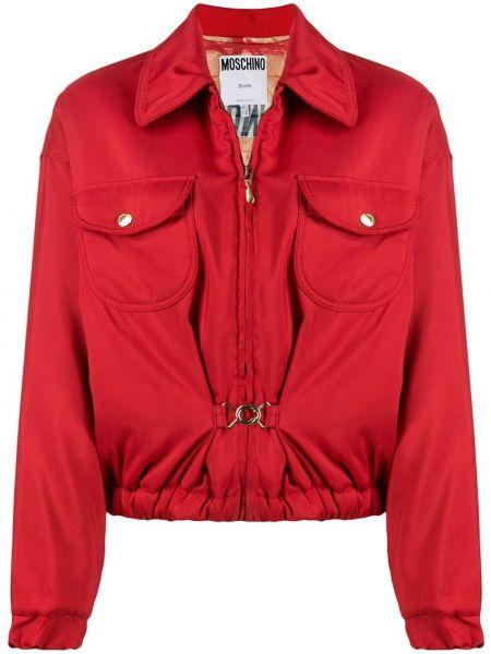 Куртка с манжетами Moschino Pre-owned