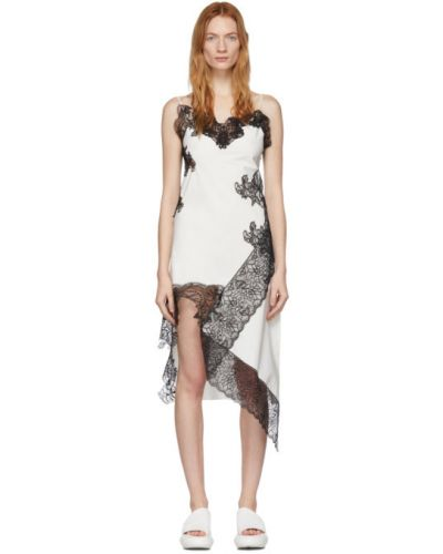 Платье на бретелях с цветочным принтом Marques Almeida