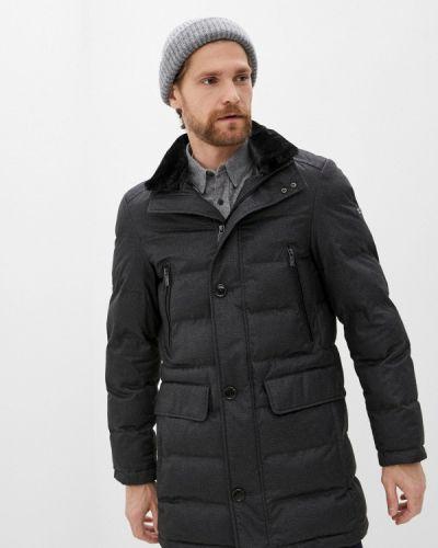 Утепленная серая куртка Daniel Hechter