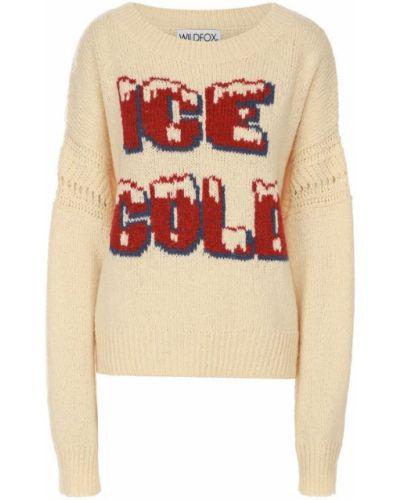 Бежевый свитер Wildfox