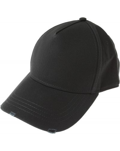 Czarna czapka bawełniana Dsquared