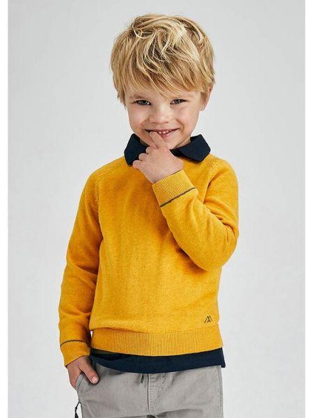 Sweter - żółty Mayoral