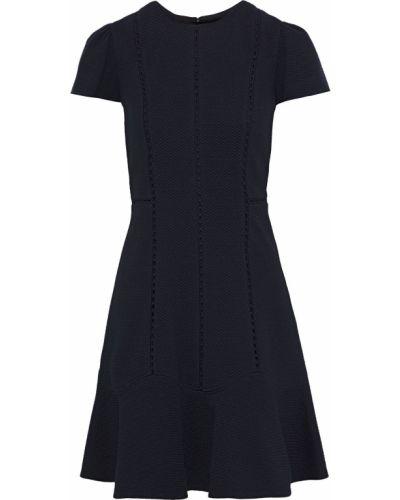 Czarna sukienka mini Rebecca Taylor