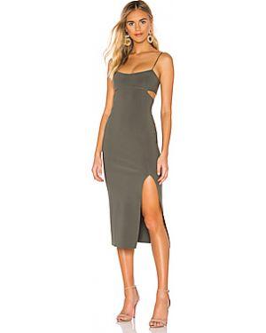 Платье миди с поясом на молнии Bec&bridge