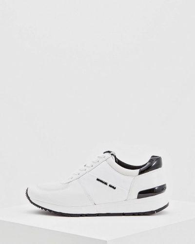 Белые кроссовки низкие Michael Michael Kors