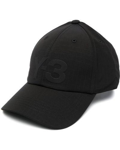 Bawełna bawełna czarny czapka baseballowa Y-3