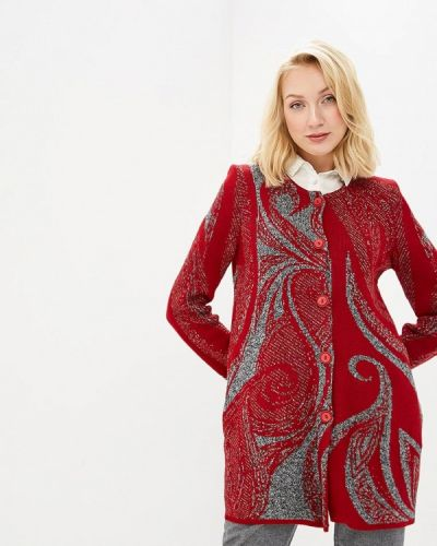 Красный кардиган Milana Style
