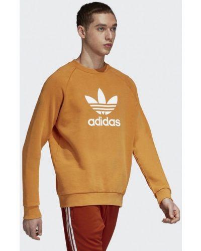 Желтый свитшот Adidas Originals