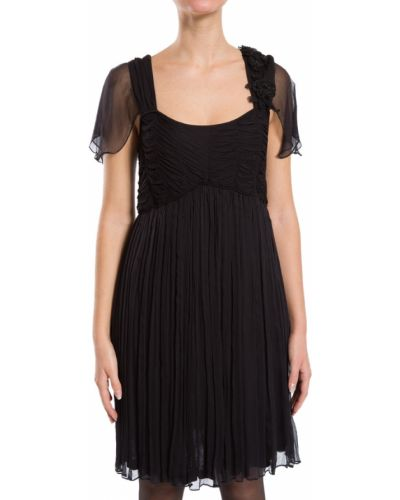 Платье из вискозы - черное Scervino Street