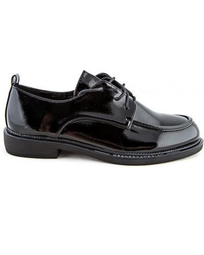 Черные туфли осенние Meitesi