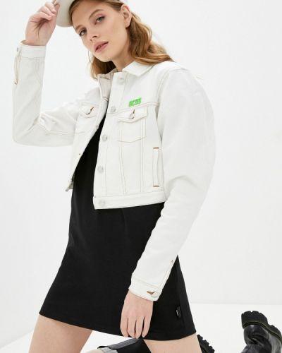 Джинсовая куртка - белая Gcds