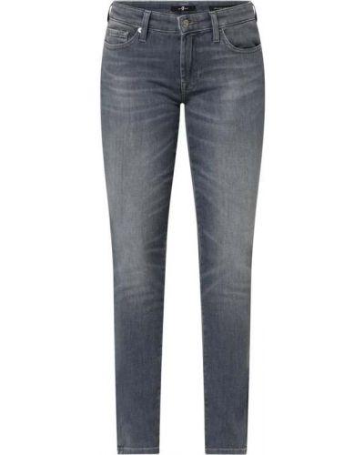 Mom jeans bawełniane 7 For All Mankind