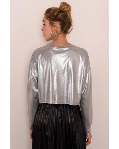 Bluzka materiałowa Fashionhunters