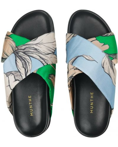 Niebieskie sandały Munthe