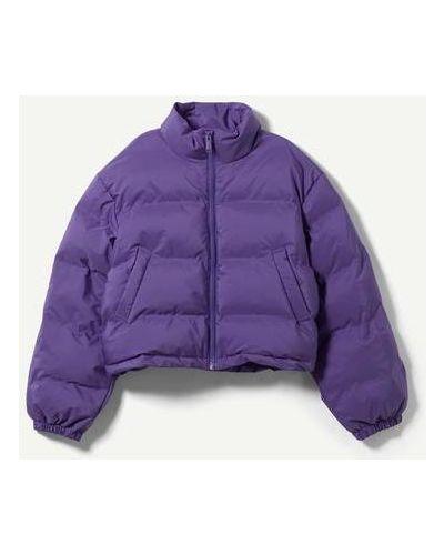 Укороченная куртка - фиолетовый Weekday