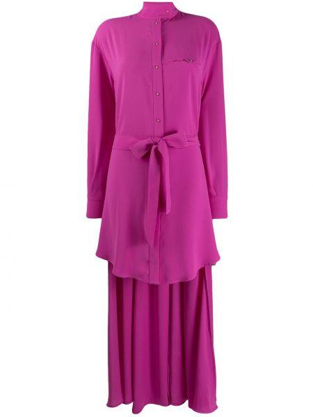 Платье с поясом на пуговицах платье-рубашка Esteban Cortazar