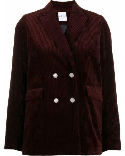 Удлиненный пиджак с карманами с воротником Roseanna