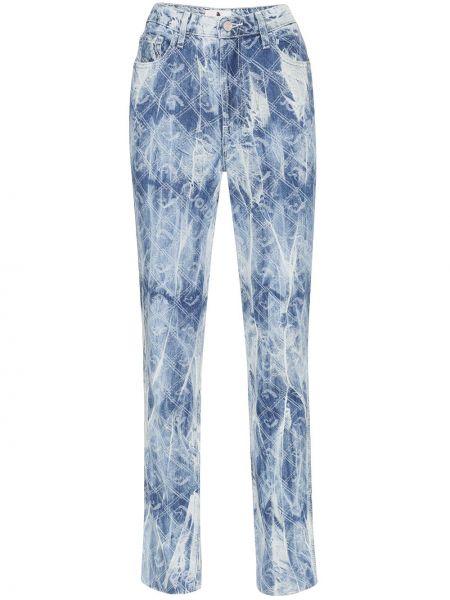 Klasyczne niebieskie jeansy bawełniane Jordache
