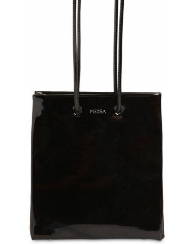 Czarna torebka skórzana Medea