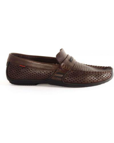 Мокасины - коричневые Prime Shoes