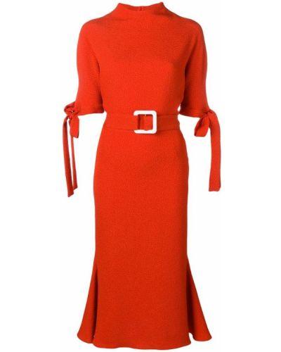 Приталенное асимметричное платье Edeline Lee