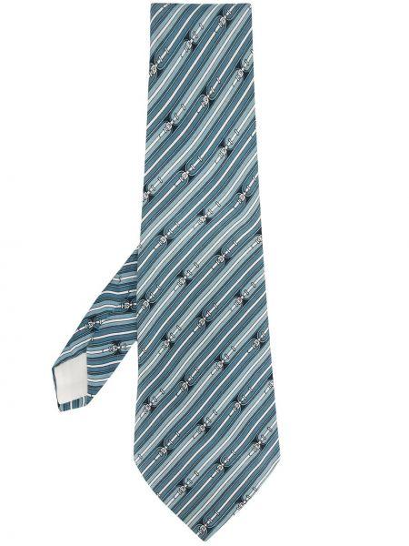 Синий галстук Hermès Pre-owned
