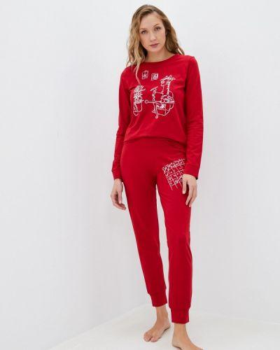 Пижамная красная пижама Hays