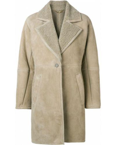 Длинное пальто с капюшоном на пуговицах Salvatore Ferragamo