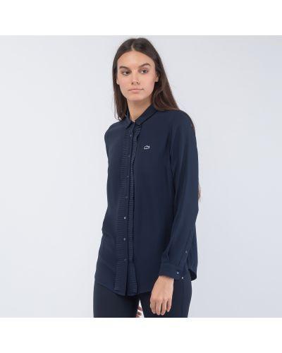 Рубашка с оборками Lacoste