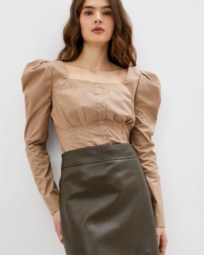 Блузка с длинными рукавами - бежевая Goldrai