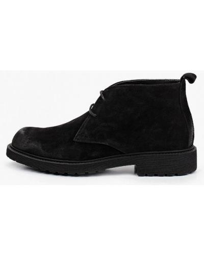 Черные ботинки F.lli Rennella