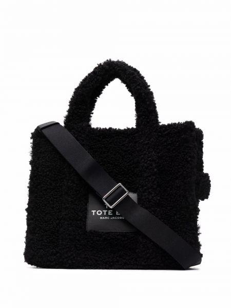 Черная сумка тоут Marc Jacobs