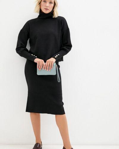 Черный зимний костюм Goldrai