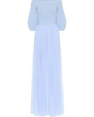 Платье макси Alexander Mcqueen
