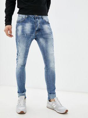 Голубые джинсы осенние Terance Kole