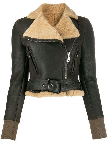 Черная длинная куртка с манжетами с подкладкой Gianfranco Ferre Pre-owned